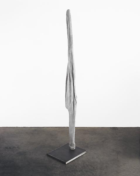 Louise Bourgeois 	ECHO VIII 2007 	Bronze painted white, and steel 	78 x 17 x 14 inches 	198.1 x 43.2 x 35.6 centimeters