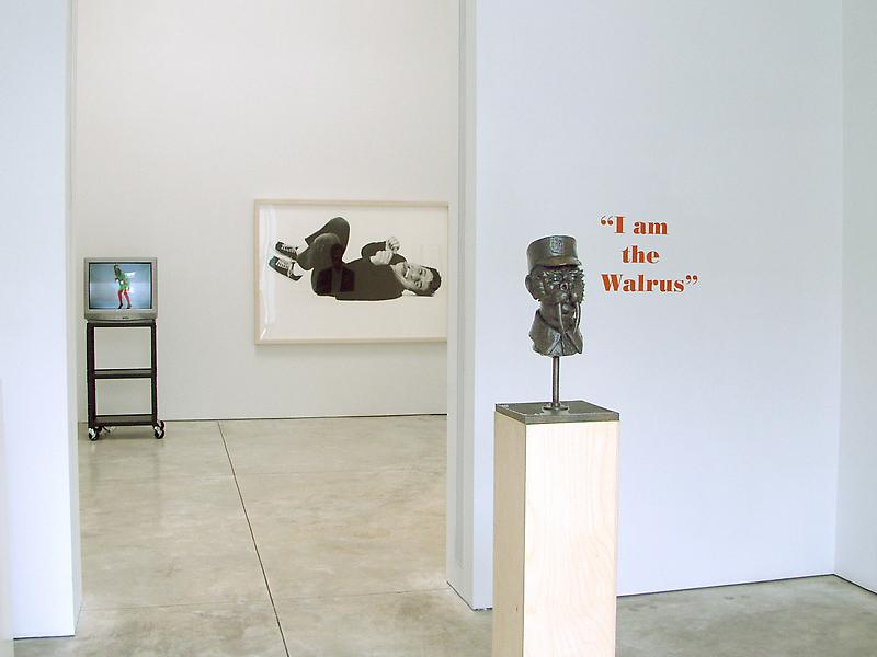 I Am The Walrus 	Curated by Jan Avgikos 	June 10 - July 31, 2004