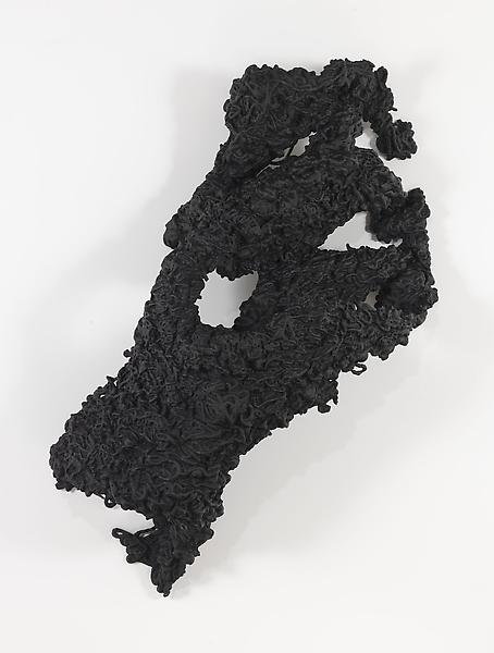 Lynda Benglis 	FIGURE 3 2009 	Bronze, black patina 	84 x 48 x 32 inches 	213.4 x 121.9 x 81.3 centimeters