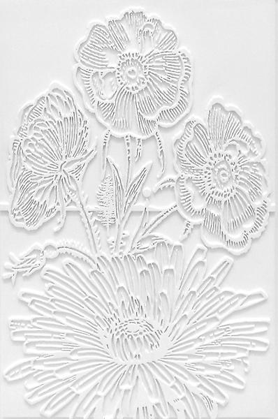 Paul Morrison HYPANTHIUM 2008 Plastic and acrylic paint 26 3/4 x 17 3/4 x 2 3/8 inches 67.9 x 45.1 x 6 centimeters