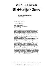 New York Times 4/4/03