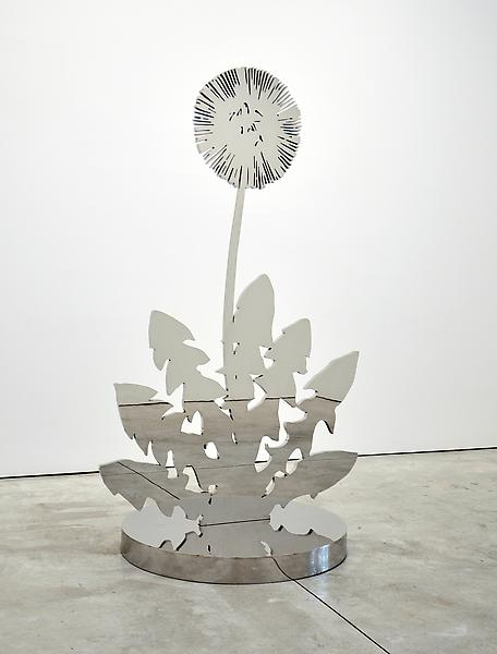 Paul Morrison PHYLUM 2008 Mirror polished stainless steel 78 3/4 x 46 1/8 x 1 inches 200 x 117.2 x 2.5 centimeters