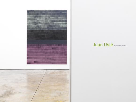 Juan Uslé - Membrana Porosa - Exhibitions - Cheim Read